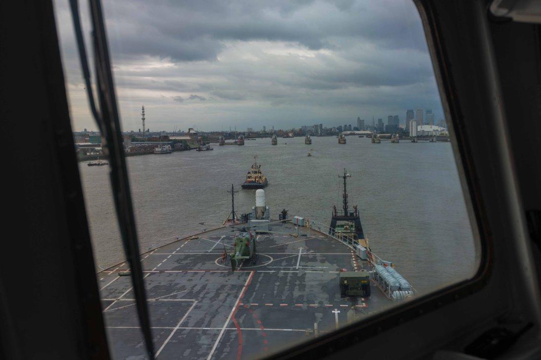 Travel Agency Website >> Thames Barrier Operation Scheme