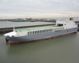 New vessel to be christened on Thames