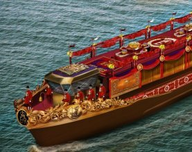 Royal Barge for Jubilee Pageant