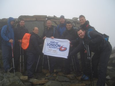 The top of Scafell Pike