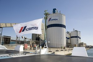 The new Cemex plant on the Thames