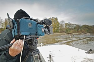 Commercial filming on the tidal river Thames requires a licence from the PLA
