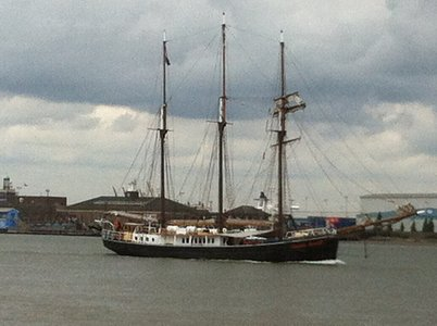 Sail Greenwich vessel Hendricka Bartels heading home on Monday