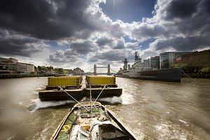 Inland freight on the Thames
