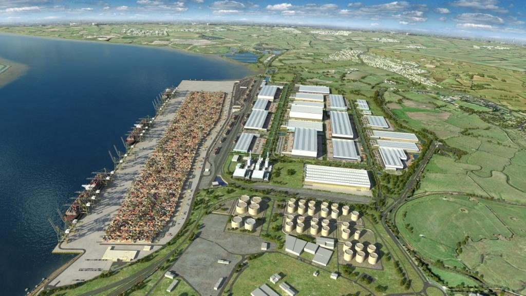 London Gateway Port - Port design