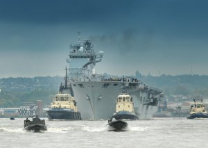 HMS Ocean (click on image to enlarge)