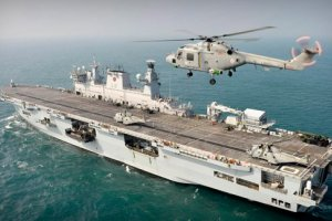 HMS Ocean (Image (c) Royal Navy)