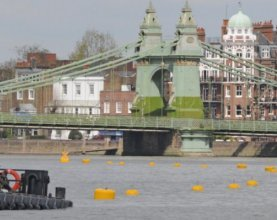 Race underway to get river ready for Queen's Jubilee Pageant