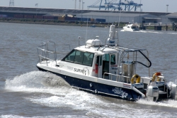 The PLA survey boat 'Galloper'