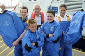 Gravesend Sea Cadets show off their new gear (click on image to enlarge)