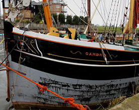 Historic Cambria Arrives at Gillingham for Summer Charity Trips