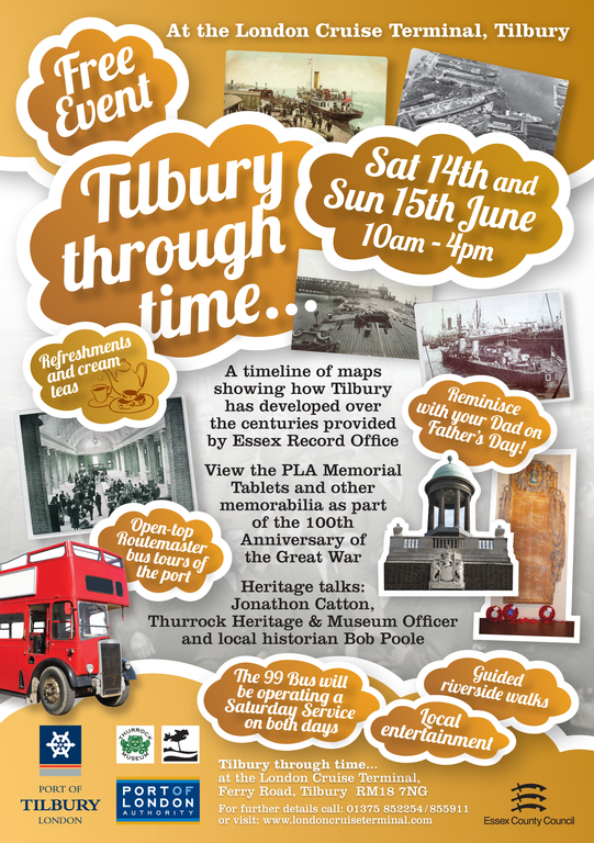 Tilbury Through Time flyer