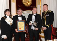 Port of Tilbury win award in March 2015