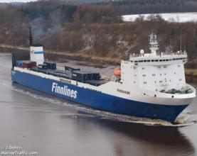 Tilbury secures Finnlines Ro Ro service