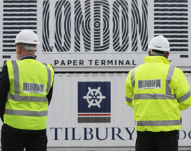 Tilbury Launches London Paper Terminal