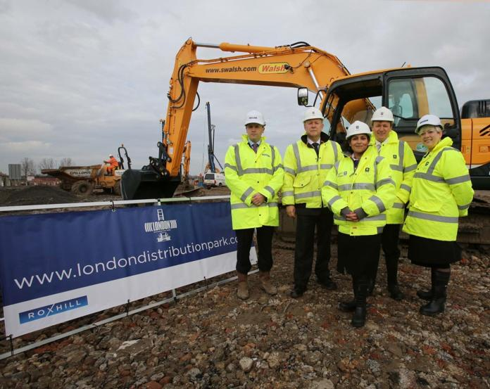 Treasury Minister marks start of construction at Tilbury