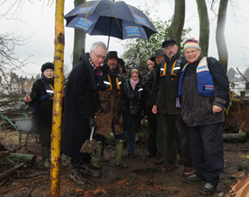Tree Planting Marks End of Thames Island Habitat Improvement Project