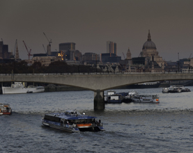 Record Numbers Travel On The River Thames as Action Plan Delivers Improvements
