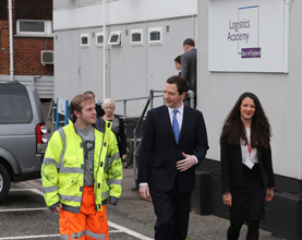 Chancellor of the Exchequer Opens Port of Tilbury's New Training Academy