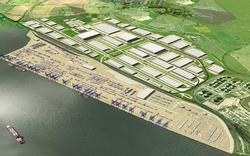 An artist's impression of the new London Gateway Port