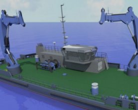 PLA signs contract for Mooring Maintenance Vessel