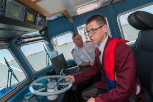 The Careers Open Day is the second Thames employment focused event at the PLA's Gravesend base in two months; pupils saw round PLA and other vessels at the Thames Training Alliance event in May.(Click on image to enlarge)