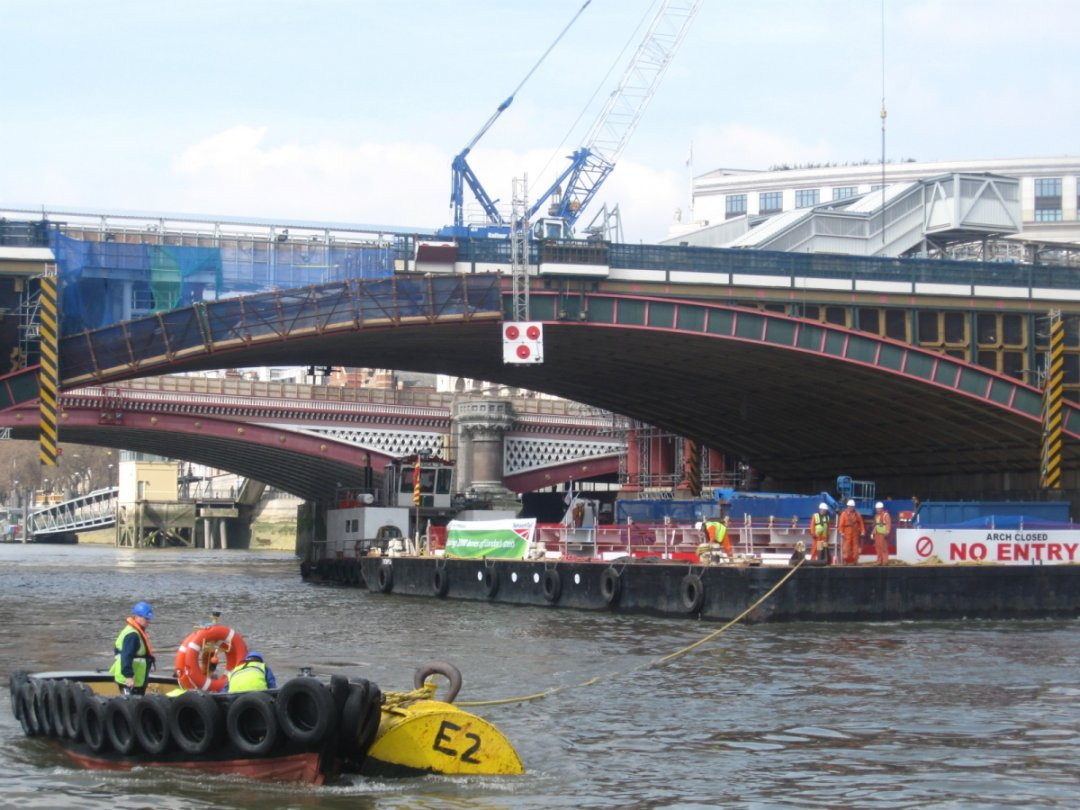 Thames takes strain from London streets