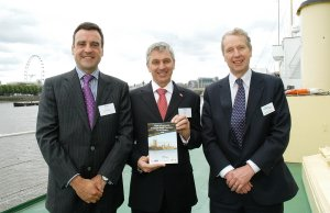 Chris Livett, Philip Maylor and David Snelson with the new Code