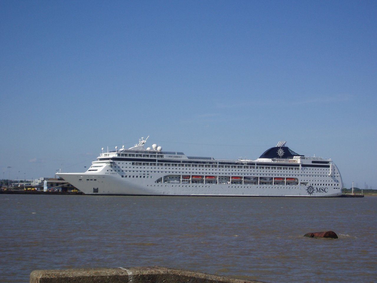 London Cruise Terminals Largest Ship - Cruise ship in london