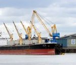 Largest ever cargo ship at Tate & Lyle Refinery