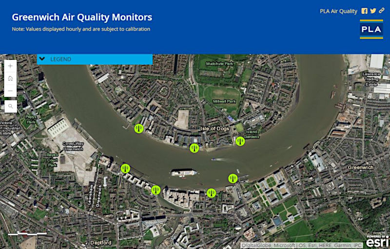 Air Quality GIS