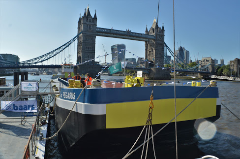 New Tideway class barges welcomed to the Thames