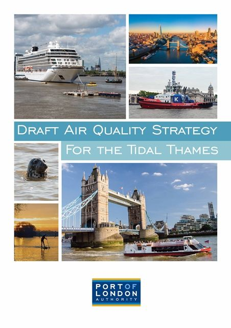 London leads with first Air Quality Strategy for a UK port