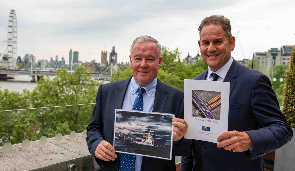 Port of London Authority launches Investment Plan