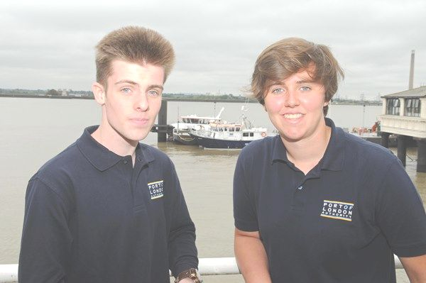 Teenagers take a marine route into work as minister calls for more apprentices