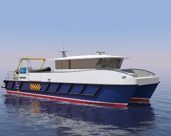 Port of London Authority inks deal on  new catamaran survey vessel