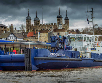 £7 million river maintenance vessel ready for a busier Thames
