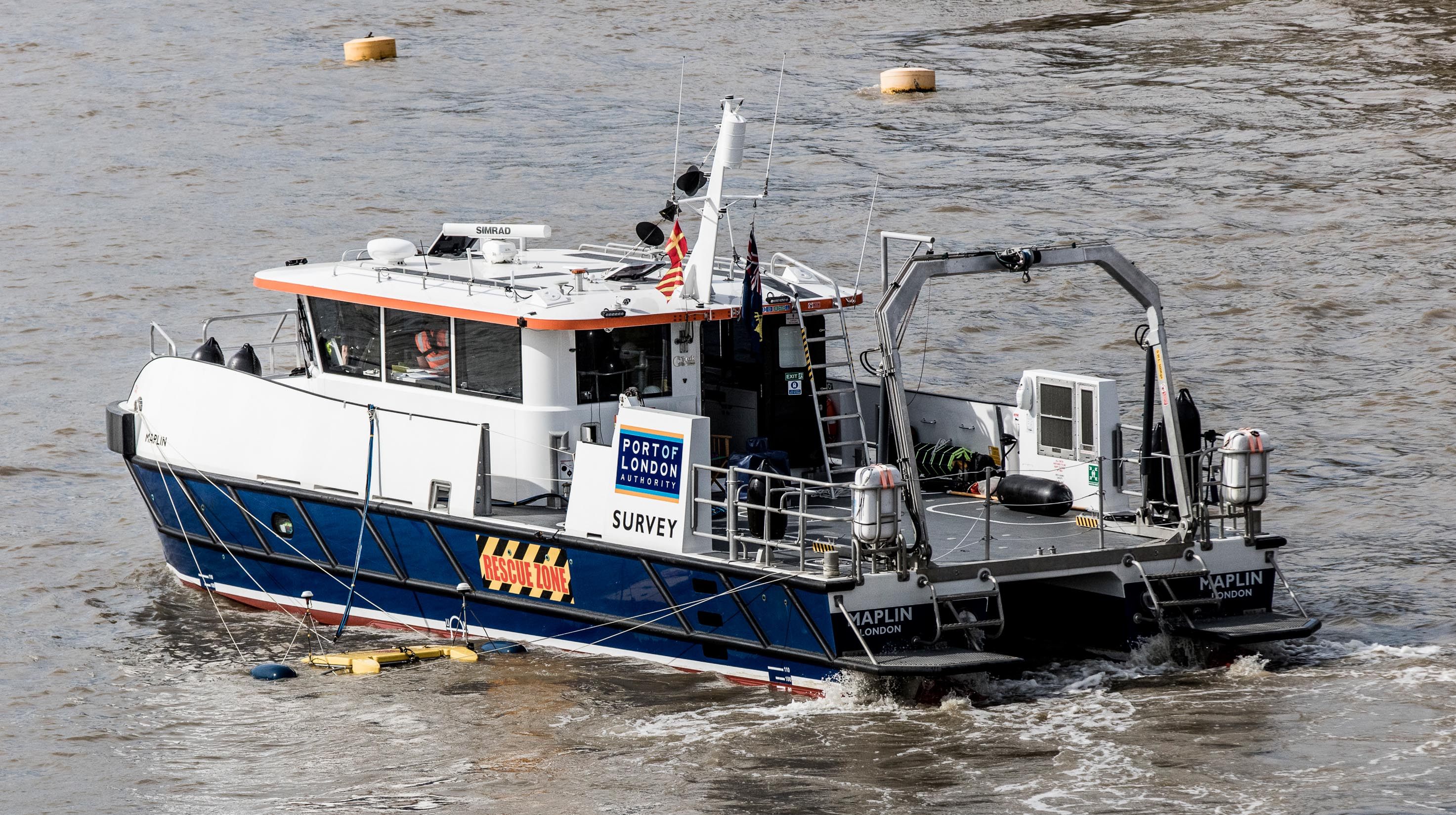 PLA survey partnership's a first for UK Hydrographic Office