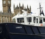 First Of New Generation of Thames Harbour Patrol Launch Named