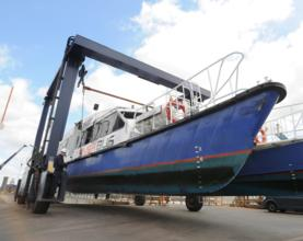 1000 Boat-Lift Milestone for PLA's Thames Base