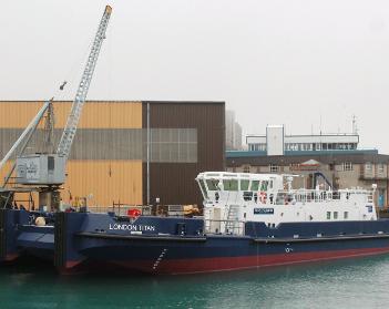 Port of London to unveil its £7m vessel, London Titan, at Seawork International