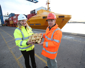Tilbury's London Container Terminal Wins OPDR Service
