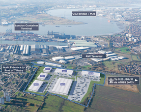 Tilbury's New 70-acre London Distribution Park Completes Infrastructure Work