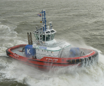 Naming Ceremony ART80-32 Hybrid Rotortug RT Evolution in London