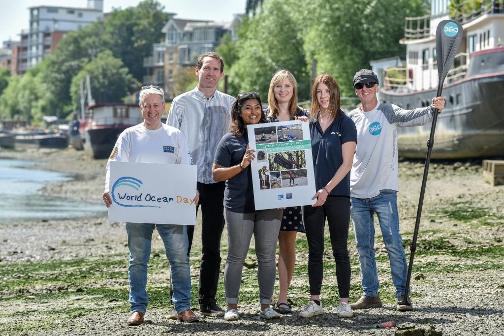Thames Clean up plan launched on World Oceans Day